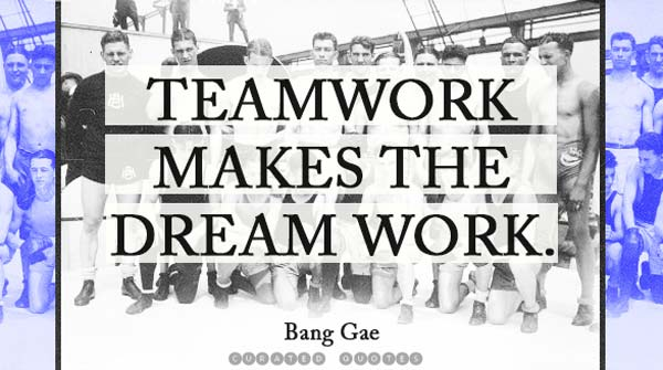 Teamwork Dream Work
