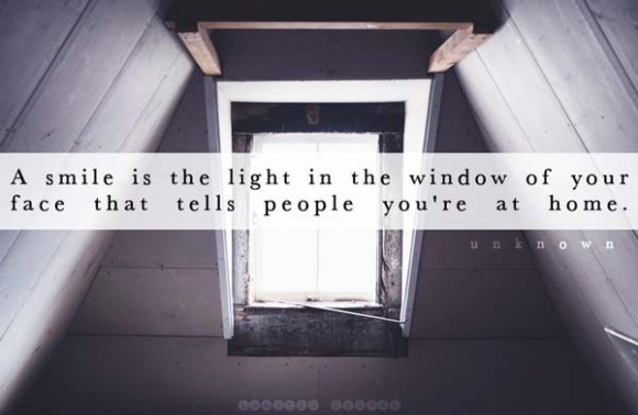 A Smile Is A Window